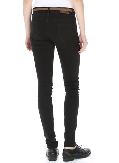T-Box Slim Fit Pantolon Siyah